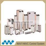 Copper condenser for split ac, Certification compact brazed heat exchanger, R410a refrigerant