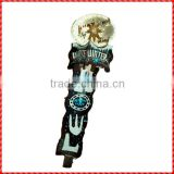 snow globe beer tap handle wholesale
