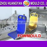 Taizhou bus seat injection mould supplier plastic stadium chair mould making