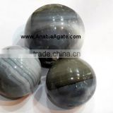 Gemstone semi precious stone balls and spheres | Banded Agate Ball : Wholesale Agate Ball
