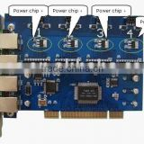 Asterisk PCI Card 400P/sound card/voice card/greeting card