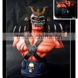 Scorpion-Bust movie figure movable resin wholesale figurine