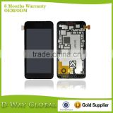 Original Quality Full Assembly LCD Disply for Nokia Lumia 520 Lcd Screen Digitizer With Frame Replacement