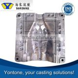 Yontone OEM ISO Factory Zinc/ Aluminium Die Casting LED Mould, Heat Sink/ Light Housing with Powder Coating