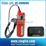 High pressure Singflo 6LPM 24 volt solar powered submersible water pump with 15A controller