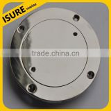 stainless steel marine deck plate on boat