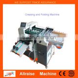 Alibaba High Quality Automatic Paper Creasing and Folding Machine for Photo paper , Book Cover