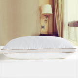 White Pillow with 2'' Orange Wall around for Outstanding Quality