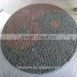 High quality natural cobblestone paver mats