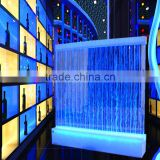 hotel hall water bubble led acrylic background wall
