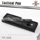 304 stainless steel Self Defense Tool Tactical ball point pen,glass breaker 2 in 1 TP-306