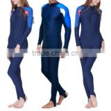 high quality fashion wetsuits for men women plus size cheap wetsuits/Long sleeved diving suit