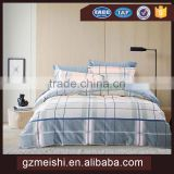 Wholesale Hotel cotton 200TC printing Bedsheet Set for family inn