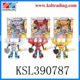 children robot b/o toy with light