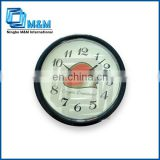 Aluminum home decor different types of clocks