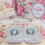 Lush 2 tone blue soft Royal luxury barbie eyes color contact lens wholesale coloured contact lenses