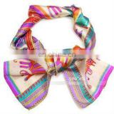 ladies' fashion polyester neckwear