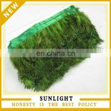 Factory Wholesale Cheap Greeen RIngneck Pheasant Plumage Feather Trim