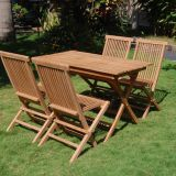 Weatherproof Modern Outdoor Furniture Teak Outdoor Furniture Customized