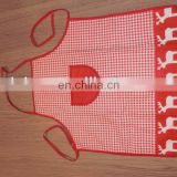 cotton apron,cooking apron with pocket