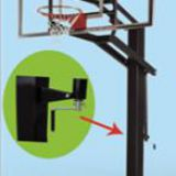 Adjustable Inground Basketball Hoop for Basketball  Outdoor  basketball stand basketball post