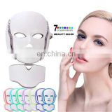 Professional face beauty facial skin rejuvenation 7 Colors led mask led facial rejuvenator