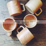 Originality wooden cup,Handmade wooden eco-friendly tea cup,zakka design elegant water cups