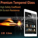 0.3mm 2.5D wholesale oem premium tempered glass clear screen protector film for ipad mini