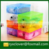 PP Production Plastic Clear Folding Shoes Packaging Box                                                                         Quality Choice