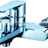NICOR 8102 Elegant Design Brass Wall Mounted Chrome Plated Bathroom Bathtub Faucet with single handle