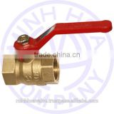 BRASS BALL VALVE LEVER HANDLE MIHA BRAND DN 80