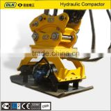Xuwa XCG330 Syany SY310 Hydraulic Plate Compactor for excavator, Road Roller Compactor, vibratory plate Compactor