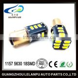 Factory price!1157 BAY15d Bulb 18 SMD LED Rear Indicator Tail Stop Brake Light car led light