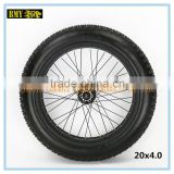 wholesale bike parts fat beach bike tire 20 inch fat tire with high quality