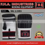 Leather Bag gloves Punch Mitts Boxing Training Equipments By FHA INDUSTRIES SIALKOT PAKISTAN