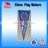 Custom Felt Pennants With Dye Sublimation For Promotion