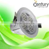 2016 Newest 30w high Brightness LED COB downlight Recessed led down lighting China Shenzhen