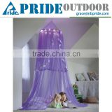 Children Circular Bed Canopy LED Mosquito Net Bed Baby Outdoor Folding Mosquito Net Tent