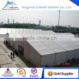 Large aluminium frame Pvc party tent with liners and decoration