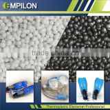 Recycling raw materials by plastic TPR granules compounds SEBS base, Swimming tools, pets toys
