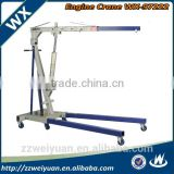2T Hydraulic Engine Crane Hydraulic mobile floor crane WX-97222