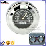 BJ-HBW-008 Waterproof Shock Resistant Billet Aluminum Motorcycle Thermometer Use on Windscreen