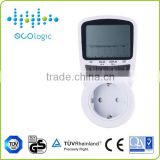 Wireless professional digital single phase energy meter/power meter socket with large LCD display                                                                         Quality Choice