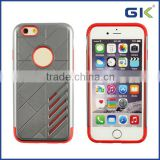 [GGIT] Factory Price PC TPU 2 In 1 Case For iPhone 6 Protective Case, Silicone Phone Case
