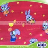 100% cotton snuggle printed flannel fabric for kids pajamas clothes                                                                         Quality Choice