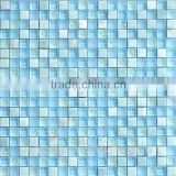 Foshan glass crystal mix stone mosaic tile for decoration house or swming pool