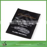 Sinicline Polyester Washing Care Garment Woven Label/Brand Woven Tag