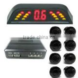 LED Auto Parking System 8 Parking Sensor Slim LED System