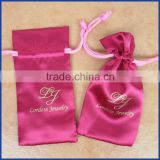 2015 Top grade satin bags hair,satin bag for hair,satin pouch for gift with customized logo                                                                         Quality Choice