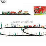 train electric railway Electric musical train , B/O railway train , Christmas Gift electric rail train electric LED light rail t